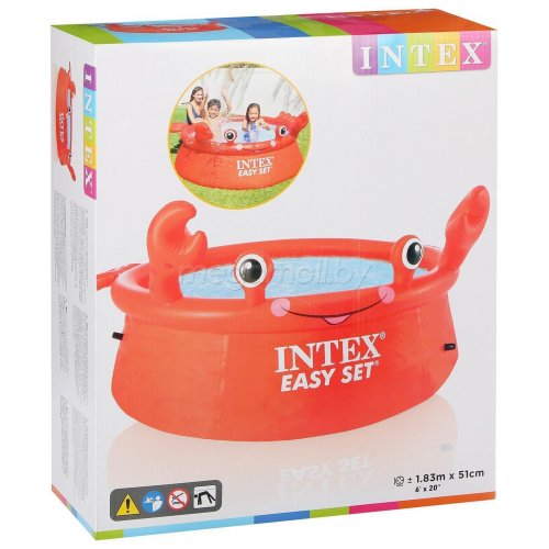 INTEX 26100 EASY SET БАССЕЙН 183х51cm
