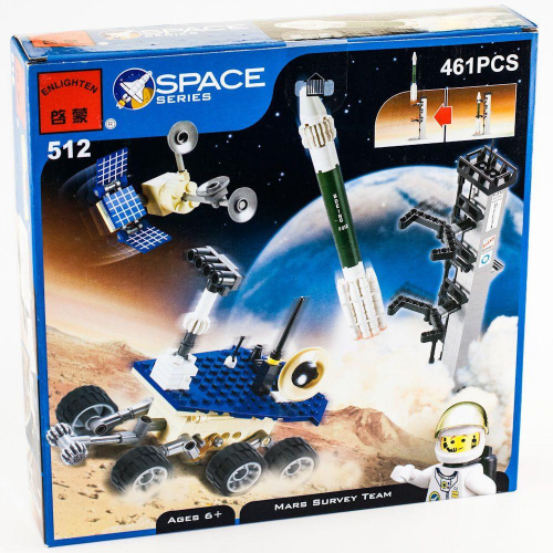 BRICK 512 ENLIGHTEN SPACE КОНСТУКТОР 461PCS!