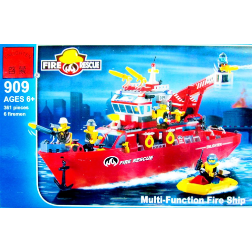 BRICK 909 ENLIGHTEN КОНСТРУКТОР 361PCS!