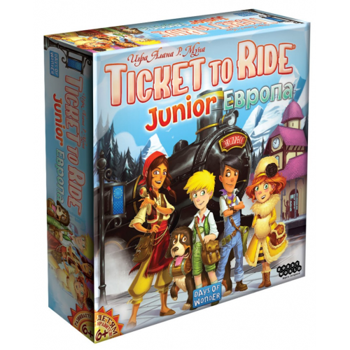 Настольная игра Hobby World Ticket to Ride Junior: Европа 186