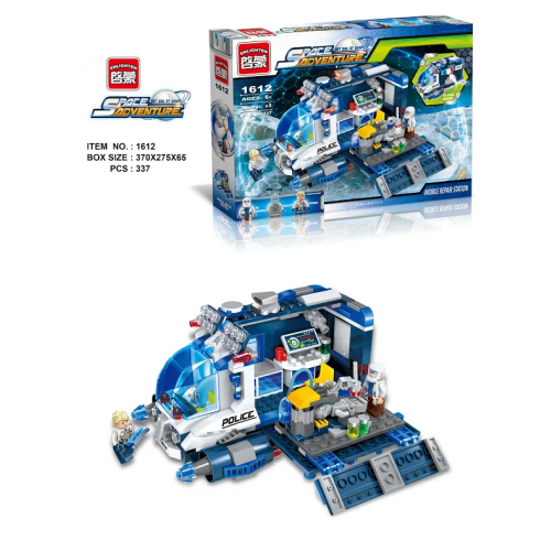 BRICK 1612 ENLIGHTEN КОНСТРУКТОР 337 PCS!