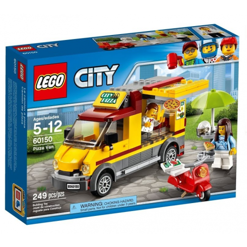Конструктор Lego City Great Vehicles Фургон-пиццерия 60150 246PCS!!