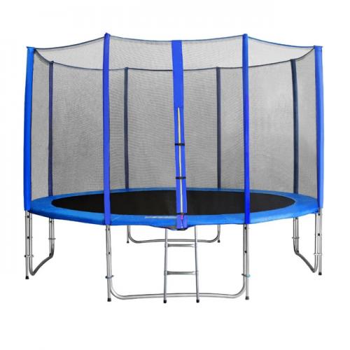 BEBON БАТУТ 14FT (427 см) BEBON 14480L2YL с сеткой и лестницей