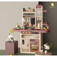 НАБОР HOME KITCHEN 889-212 ВОДА, ЗВУК, ПАР! 65PCS! 93.5 x 71 x 28.5 см!
