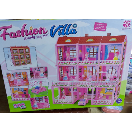 957 ДОМИК FASHION VILLA 208PCS!