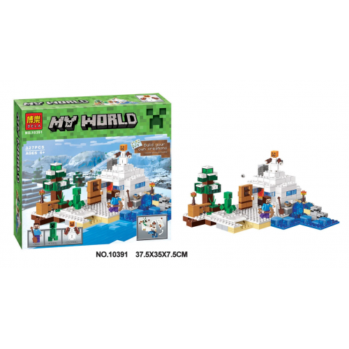 BELA MY WORLD 10391 КОНСТРУКТОР 327PCS!