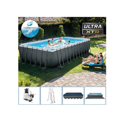 INTEX 26364 ULTRA FRAME КАРКАСНЫЙ БАССЕЙН 732X366X132 CM