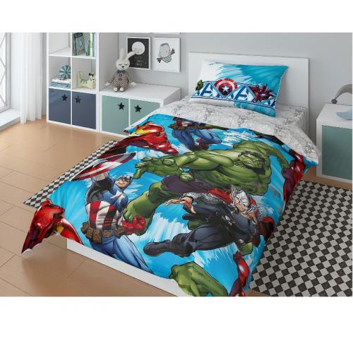 Постельное белье Marvel Avengers Attack Комплект 1.5 спальный 724746