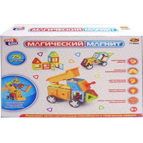 Конструктор ABtoys Магический магнит 75 дет. PT-00843