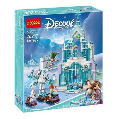DECOOL КОНСТРУКТОР 70217 FROZEN ЛЕДЯНОЙ ДВОРЕЦ ЭЛЬЗЫ (аналог lego disney princess 41148) 701PCS