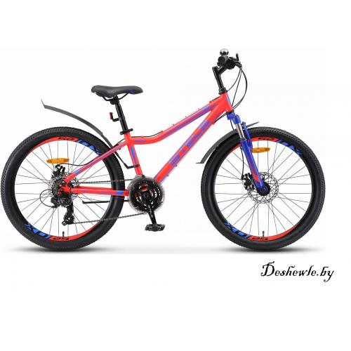 Stels Navigator Велосипед 24 410 MD V010 (рама 13) Неоновый-красный!