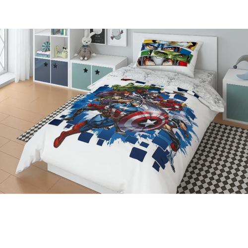 Постельное белье Marvel Avengers To Battle Комплект 1.5 спальный 724731