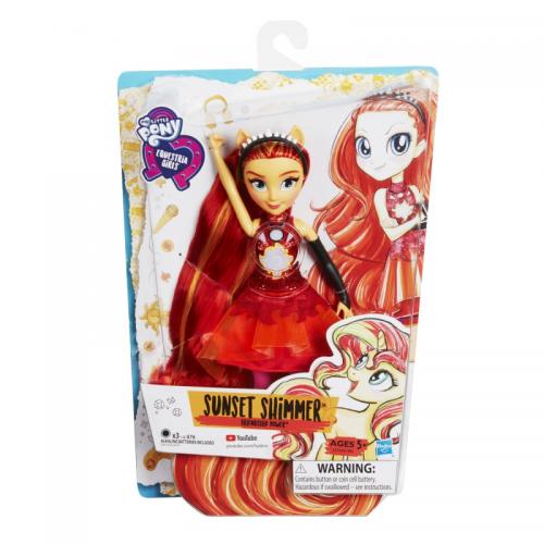 Hasbro ИНТЕРАКТИВНАЯ Кукла Equestria Girls E1984EU4