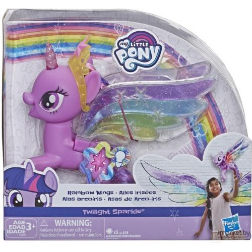 Hasbro My Little Pony Пони Искорка с радужными крыльями E2928