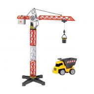Dickie Toys Кран + самосвал 3463337 67х13.5 см!