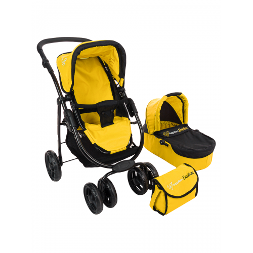 Коляска 2 в 1 Buggy Boom Amidea 9000 YELLOW