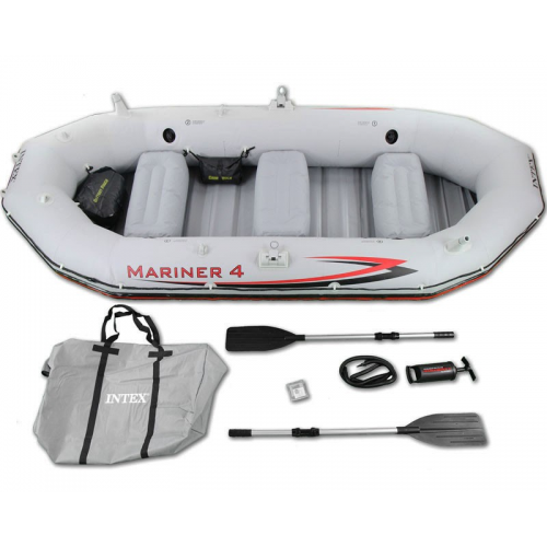 ЛОДКА Intex Mariner 68376 328х145х48 см!