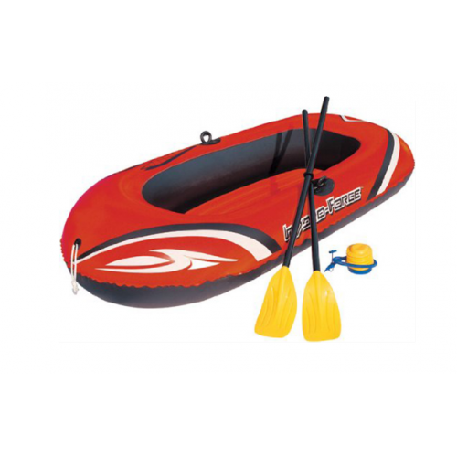 ЛОДКА BestWay Hydro-Force Raft Set 61102 BW 242x141 см!
