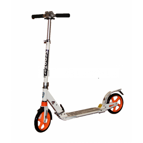 Town Section белый Scooter URBAN 9X A02728 ДВА АМОРТИЗАТОРА!