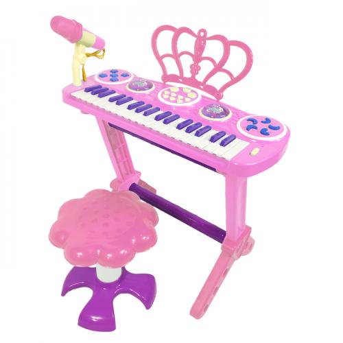 LEZILE PIANO 3708 ПИАНИНО СО СТУЛЬЧИКОМ USB! СЕТЬ!