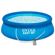 EASY SET INTEX (ИНТЕКС) 28142 БАССЕЙН 84×396СМ! +НАСОС