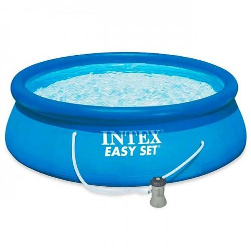 EASY SET INTEX (ИНТЕКС) 28142 БАССЕЙН 84×396СМ! +НАСОС