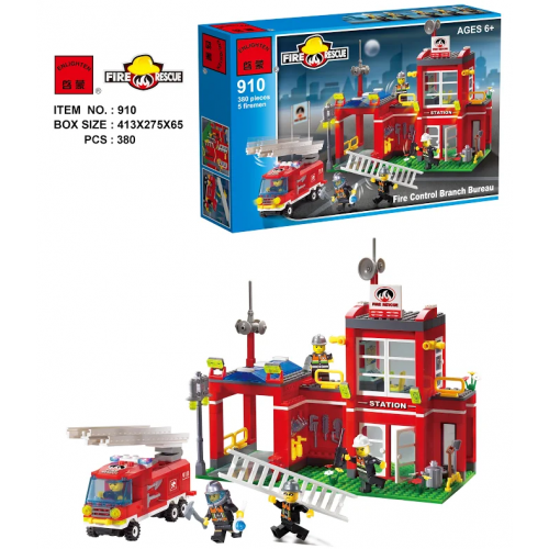 BRICK ENLIGHTEN 910 КОНСТРУКТОР 380PCS!