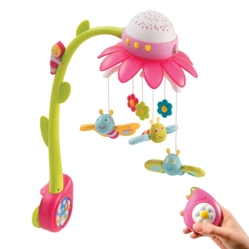 Музыкальный мобиль Smoby Цветок Pink 110112