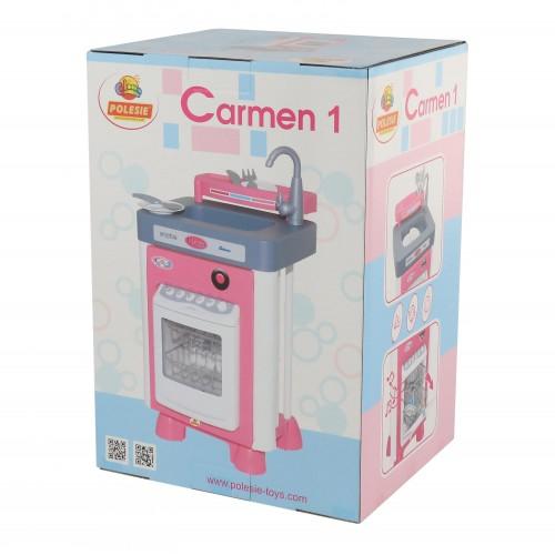 Полесье Carmen №1 с посудомоечной машиной 57891 310х350х590 мм!