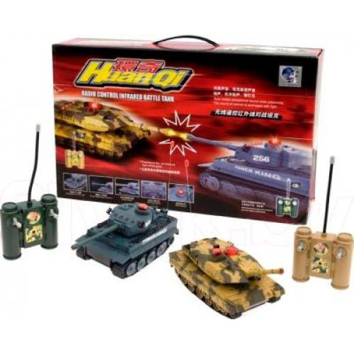 Huan Qi Танковый бой Tiger vs Leopard (508-10)