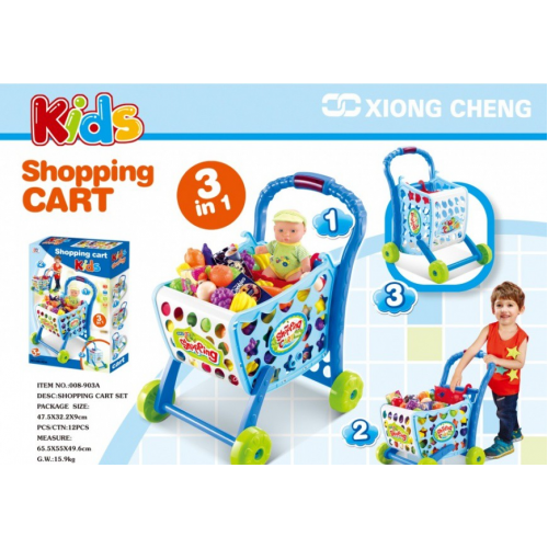 KIDS SHOPING CART XONG CHENG 008-903A
