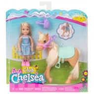 Кукла Mattel Barbie Челси и пони DYL42