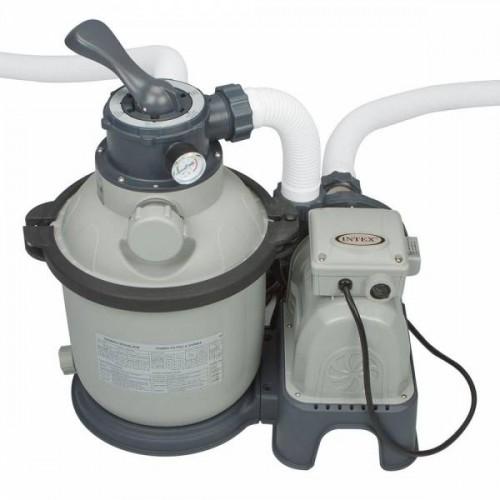 Песчаный фильтр-насос Intex Krystal Clear 28644 л/ч.: 4500