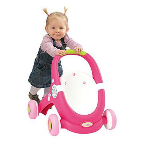 Коляска Smoby MiniKiss Ходунки-коляска 210201