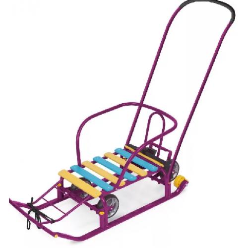 Санки Т5У Фиолетовые