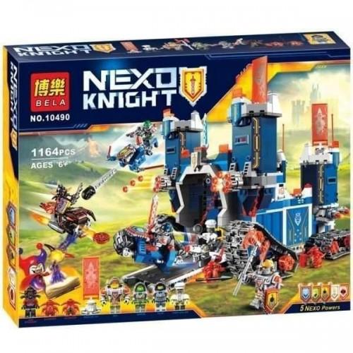 BELA NEXO KNIGHT КОНСТРУКТОР 10490 Фортрекс - мобильная крепость 1164PCS!