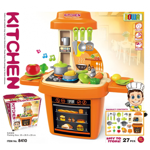 BOWA KITCHEN КУХНЯ 8410 14PCS SONG, LIGHT 52 x 24 x 57 см!