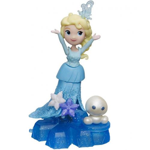 Hasbro Disney Princess Холодное сердце Маленькая кукла на движущейся платформе-снежинке B9249