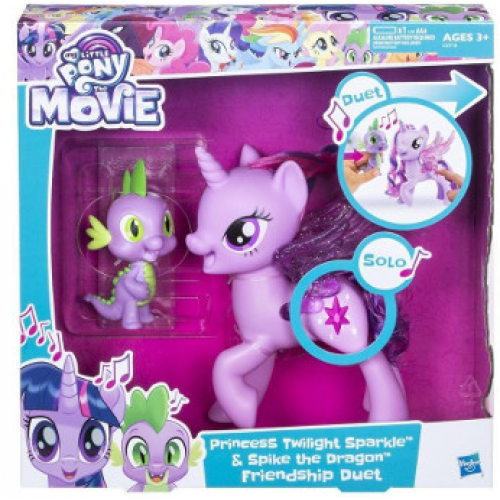 Hasbro My Little Pony Поющая Твайлайт Спаркл и Спайк C0718