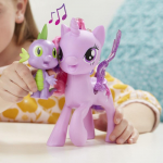 Hasbro My Little Pony Поющая Твайлайт Спаркл и Спайк C0718