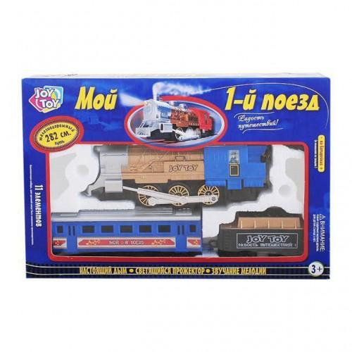 Joy Toy Мой 1-й поезд Blue A144-H06048
