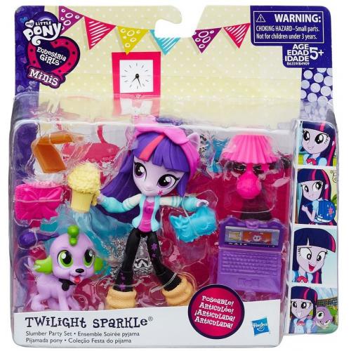 Hasbro My Little Pony Equestria Girls Мини-кукла с аксессуарами в ассортименте B4909