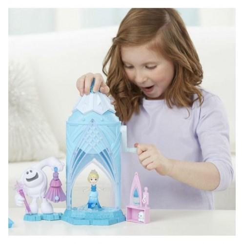 Hasbro Disney Princess Холодное сердце Замок Эльзы сделай волшебный снег C0461