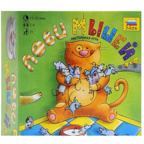 Настольная игра Zvezda Лови мышей 8775