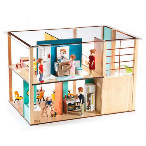 Djeco Дом-кубик 07801 48.5 x 31 x 32.5 см!