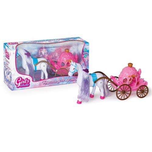 Карета для принцессы Girls Club 8506/GC