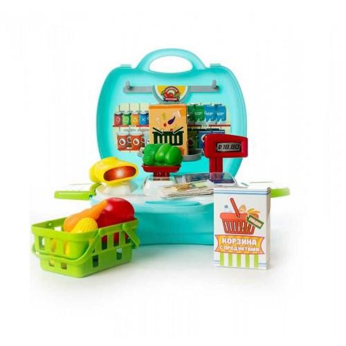 ABtoys Овощной магазин Чудо-чемоданчик PT-00461