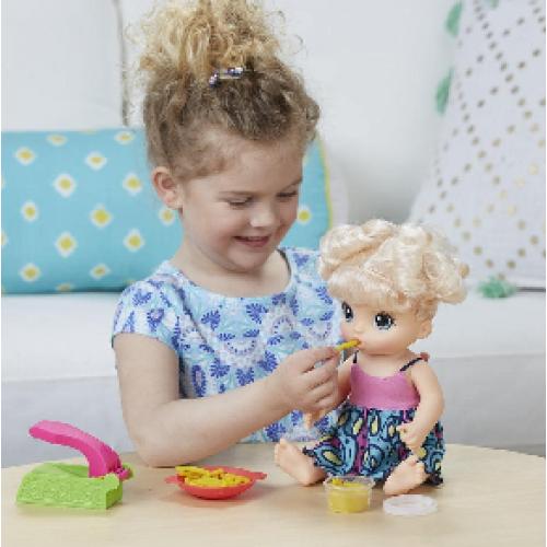 Hasbro Baby Alive Малышка хочет есть C0963