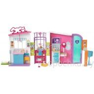 Mattel Barbie Ветеринарный центр FBR36