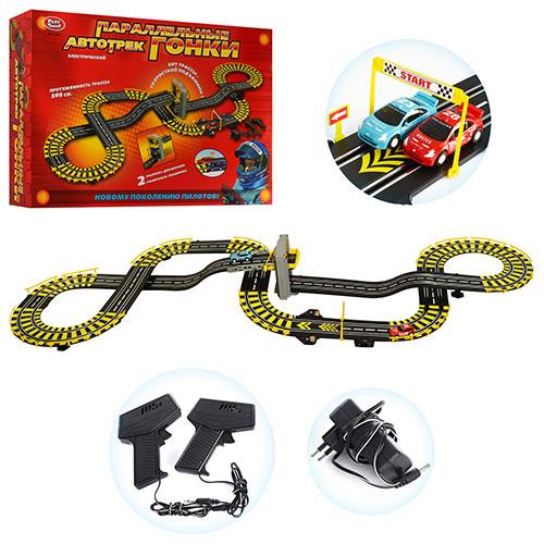 Параллельные гонки Play Smart 0817 сеть 590см! Хит!